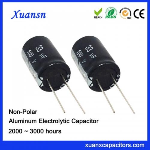 33uf electrolytic capacitor