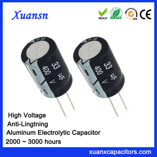 33uf 400v Anti Lightning Electrolytic Capacitor