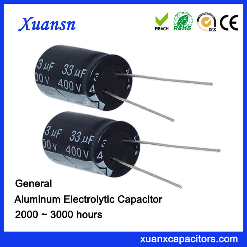 General 33uf 400v Capacitor Electrolytic For Sale