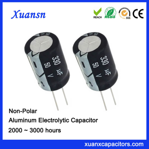330uf 50v Non Polarized Electrolytic Capacitor