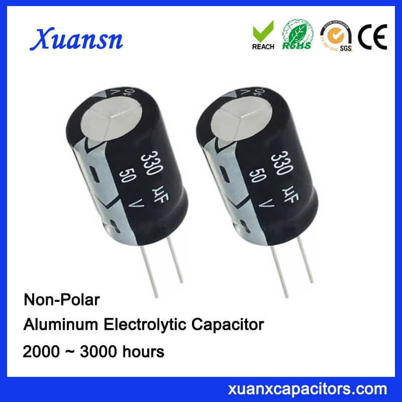 330uf 50v Non Polarized Electrolytic Capacitor