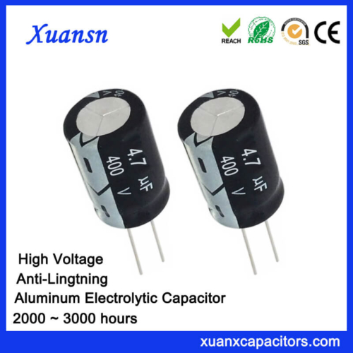 Anti-Lightning 4.7uf 400v Electrolytic Capacitor