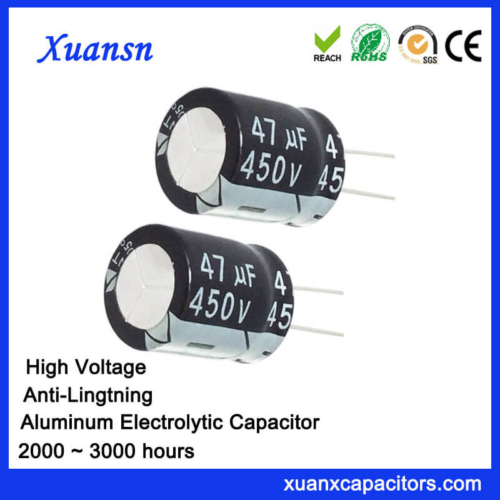 47uf 450v High Voltage Electrolytic Capacitor
