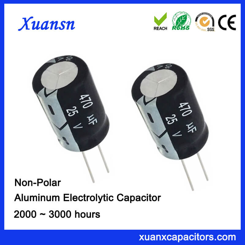 470uf 25v NP High Quality Electrolytic Capacitor