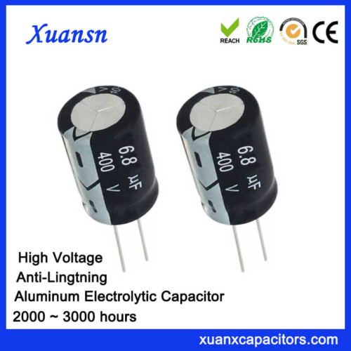 6.8uf 400v High Voltage Capacitor Manufacturers