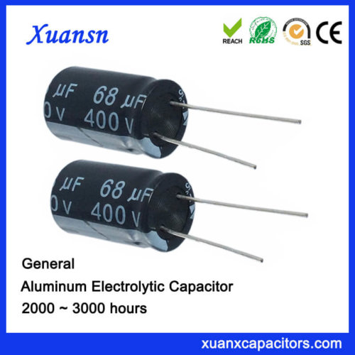 High Voltage 68uf 400v Capacitor For Power Supply