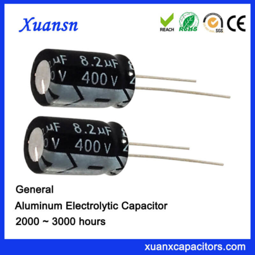 8.2uf 400v Aluminum Electrolytic Capacitor Sales