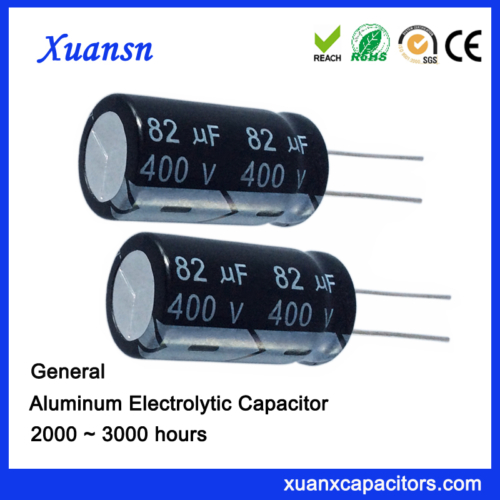 Power Supply Filter 82uf 400v Capacitor Electrolytic