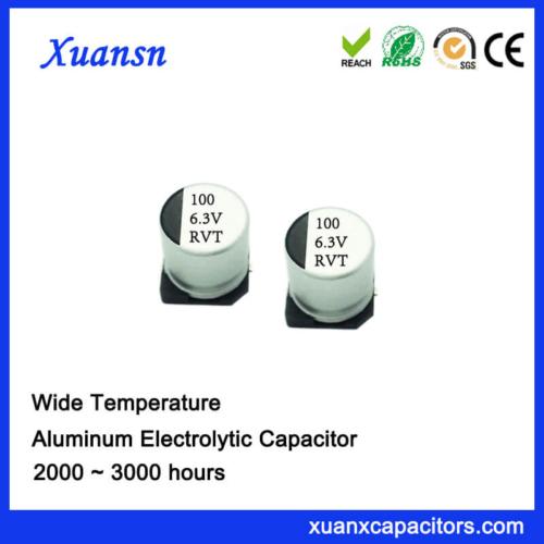100UF 6.3V Standard Low Voltage Chip Capacitor