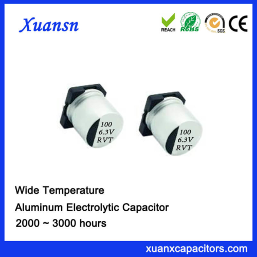 100UF 6.3V Standard Low Voltage Chip Capacitor