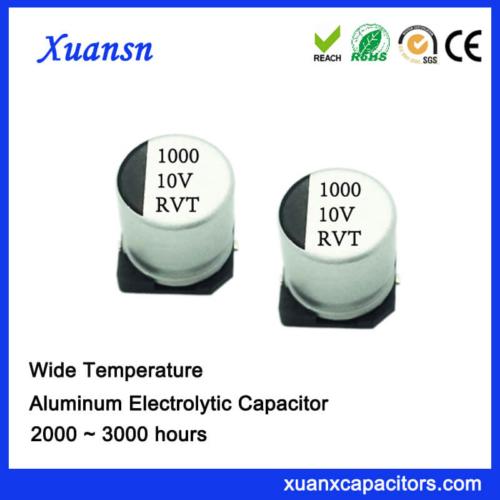 1000UF 10V Standard SMD 2000Hours Electrolytic Capacitor