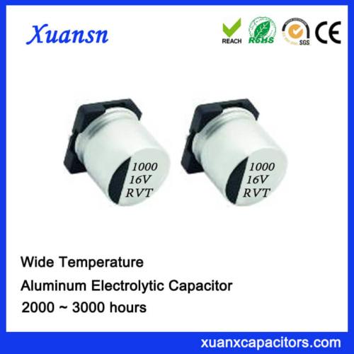 1000UF 16V SMD Standard Aluminum Electrolytic Capacitor