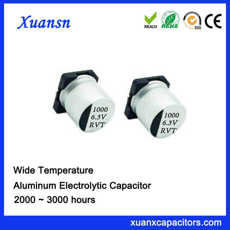 1000UF 6.3V Standard Chip Electrolytic Capacitor Supplier
