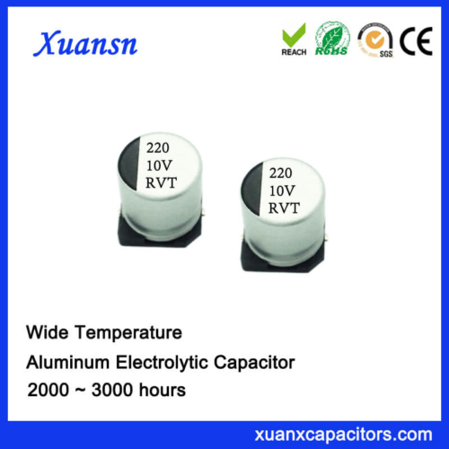 220uf 10v Chip Type Electrolytic Capacitor Factory