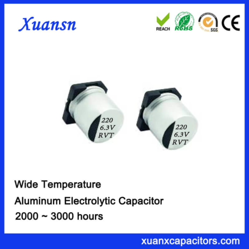 220UF 6.3V 2000Hours 105℃ Standard SMD Capacitor
