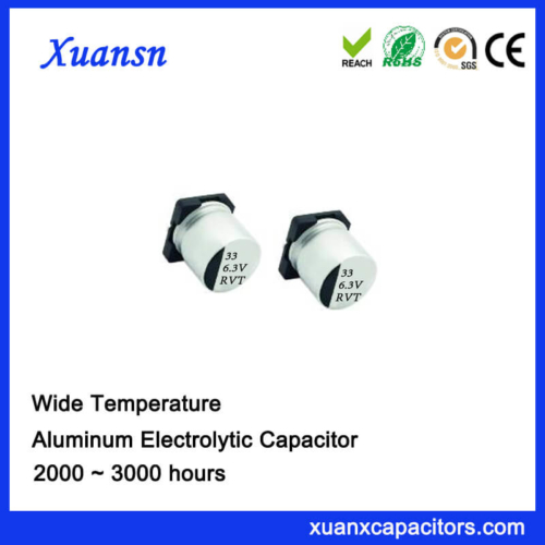33UF 6.3V Standard SMD Aluminum Electrolytic Capacitor