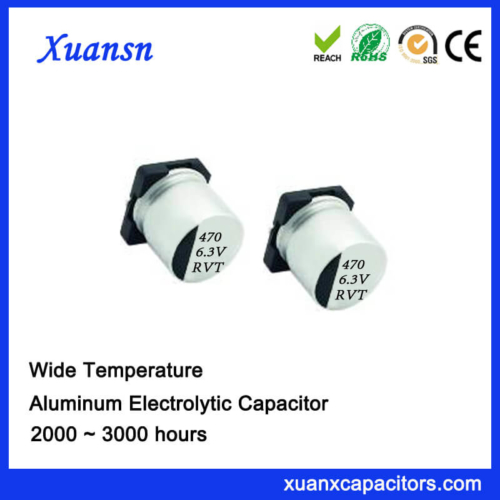 Hot Sale 470UF 6.3V Standard Chip Electrolytic Capacitor