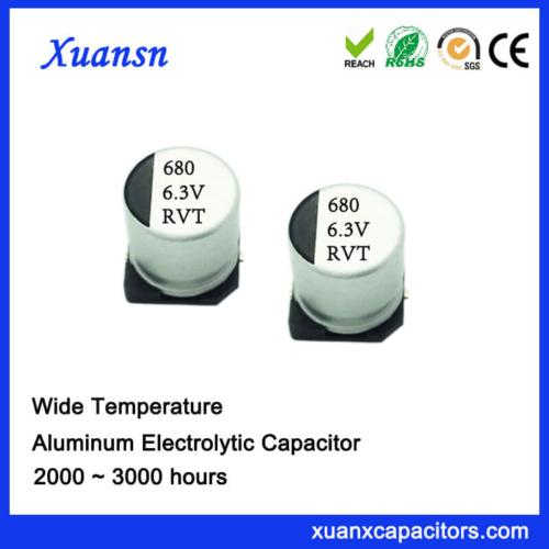 Hot Sale 680UF 6.3V 8*10.2 Standard SMD Capacitor