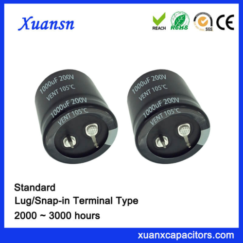 Snap In 1000UF 200V Capacitor China Supplier
