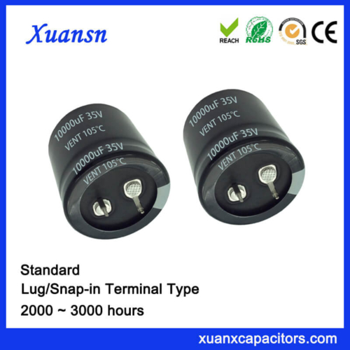 10000uf 35V Standard Soldering Snap In Capacitor