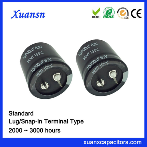 10000uf 63v Larger Standard Snap In Capacitor
