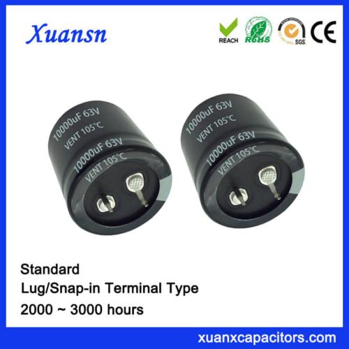 10000uf 63v Larger Standard Snap In Capacitor
