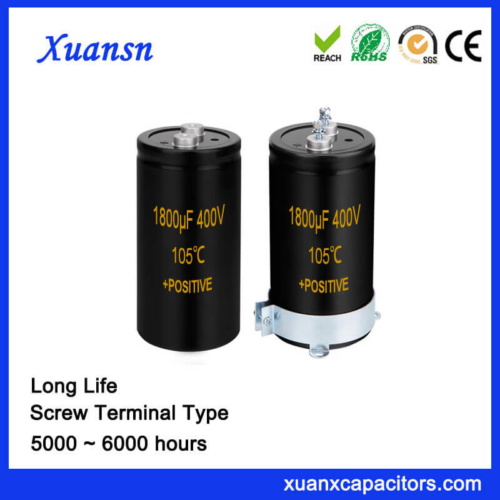 Wholesale Xuansn Screw Capacitor 1800UF 400V Long Life