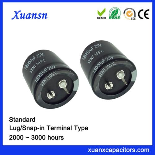 18000UF 25V Standard Socket Snap In Capacitor