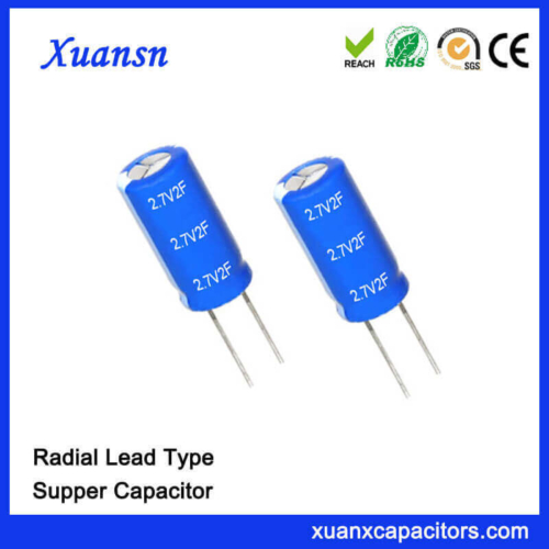 Wholesale Super Farad Capacitor 2.7V 2F Capacitor