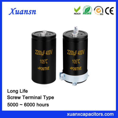 Screw Terminal Type Electrolytic Capacitor 2200UF 400V