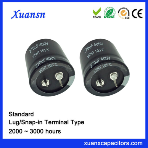 Best Seller 270UF 400V Capacitor Electric Snap In