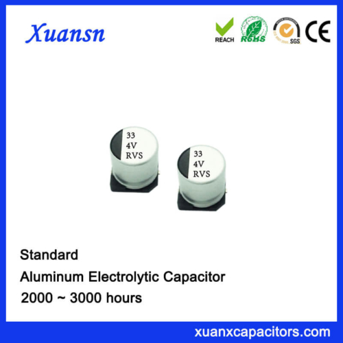 Hot Sale General SMD 33UF 4V Aluminum Electrolytic Capacitor
