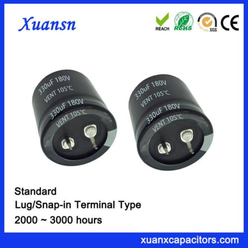 330UF 180V 105℃ Standard Snap In Capacitor