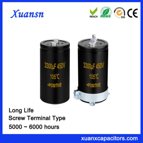 Excellent Quality Screw Capacitor 450V 3300UF Long Life