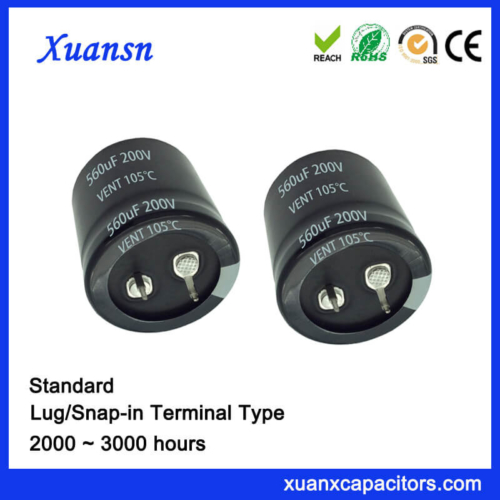 Xuansn Factory 560UF 200V Capacitor Snap In