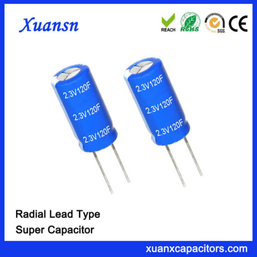 Capacitor Factory 2.3V Super Capacitor 120F Capacitor