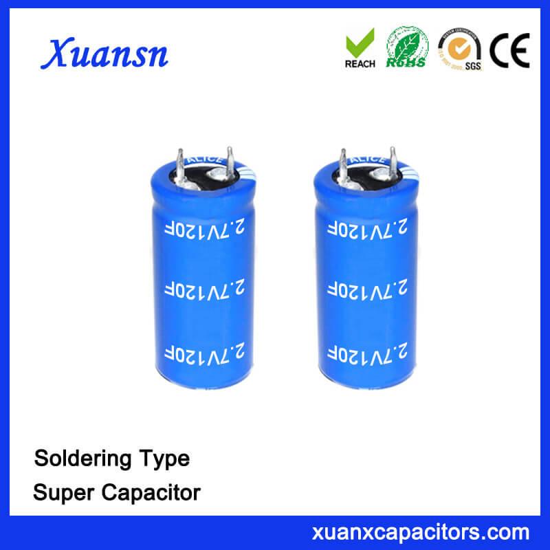 2.7V Super Capacitor Battery 120F Capacitor
