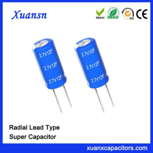 Xuansn Factory Capacitor 2.7V 12F Super Capacitor