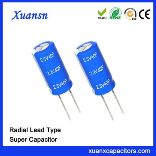 New Original 2.3V 40 Farad Super Capacitor