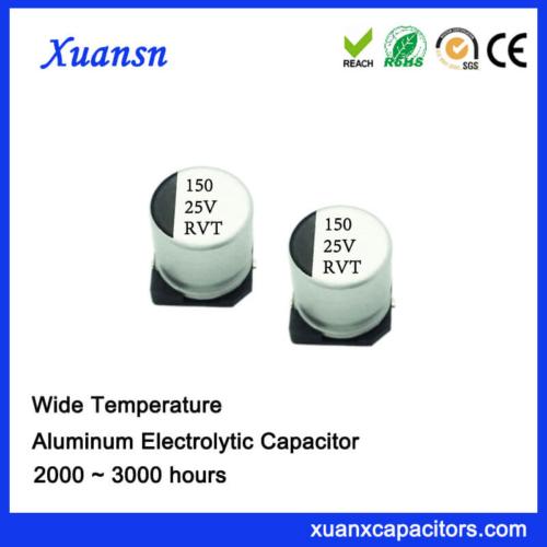 150UF 25V Chip Standard Aluminum Electrolytic Capacitor