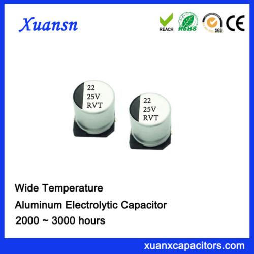 22UF 25V Best Standard 105℃ 2000Hours SMD Capacitor