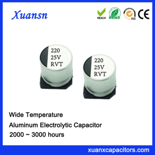 220UF 25V 2000Hours SMD Electrolytic Capacitor