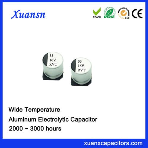 33UF 16V V-Chip Standard Aluminum Electrolytic Capacitor