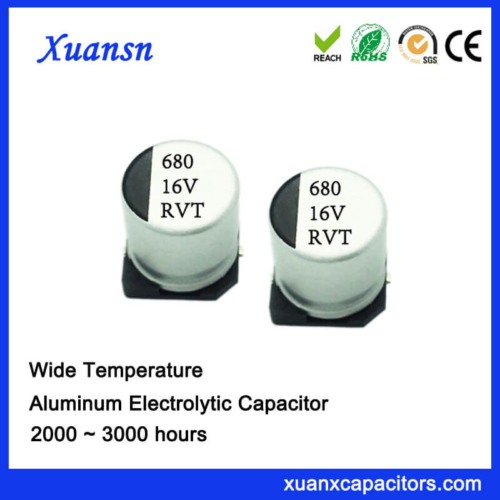 Details about  /500pcs 16v 220uf 16volt 220mfd 105c aluminum electrolytic capacitor 6×7mm radial