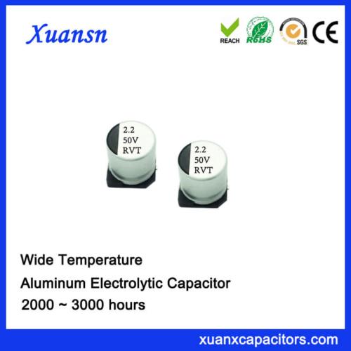 New 2.2UF 50V Standard SMD Electrolytic Capacitor