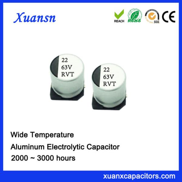 22UF 63V Standard SMD Aluminum Electrolytic Capacitor