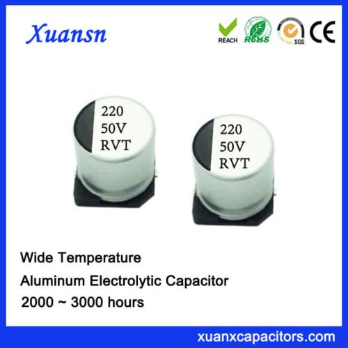 Surface Mount 220UF 50V Electrolytic Capacitor