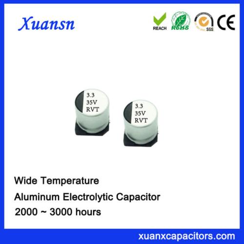 Customized 3.3UF 35V Standard SMD Electrolytic Capacitor