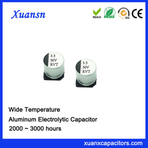SMD 3.3UF 50V Standard Aluminum Electrolytic Capacitor