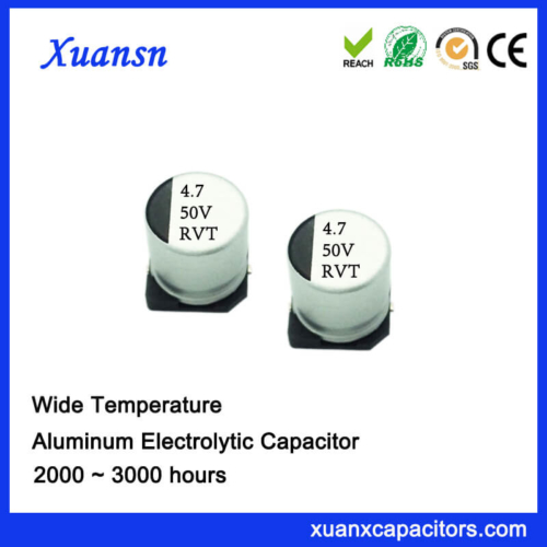 V-Chip 47UF 50V Standard Aluminum Electrolytic Capacitor
